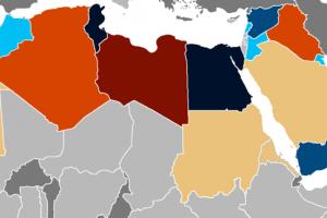 arap baharı haritası wikiden