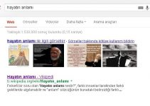hayatın anlamını aramak google