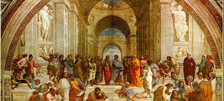 1-atina-okulu-raphael felsefi resimler- meshur tablolar