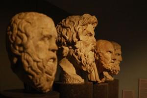Kısa Felsefe Tarihi Özet Bilgiler Geçmiş Felsefi Akımlar ve Filozoflar büstler