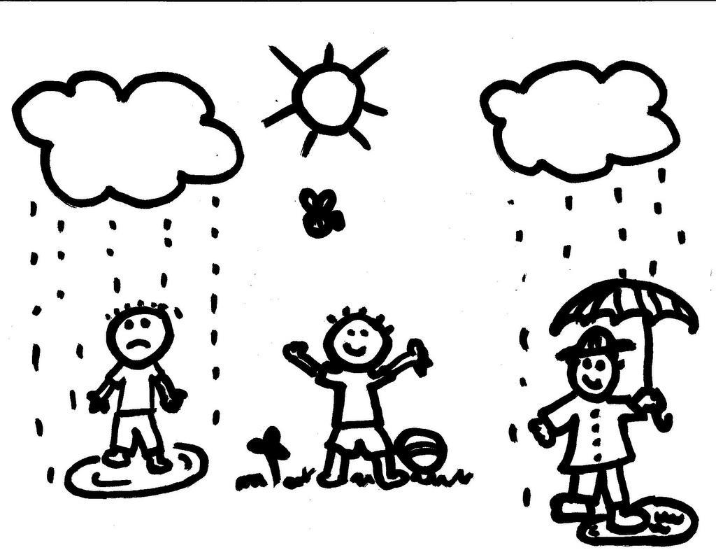 Line Drawing Sunny Day : Düşünce gücü nedir düşünmek ve gerçeklik fikir hayal