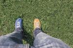 doğruluk farklı ayakkabılar