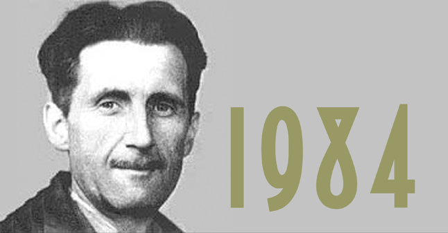 George Orwell (1903 – 1950), 1984 (1949) ile ilgili görsel sonucu