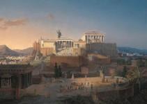 antik yunan filozofları akropolis